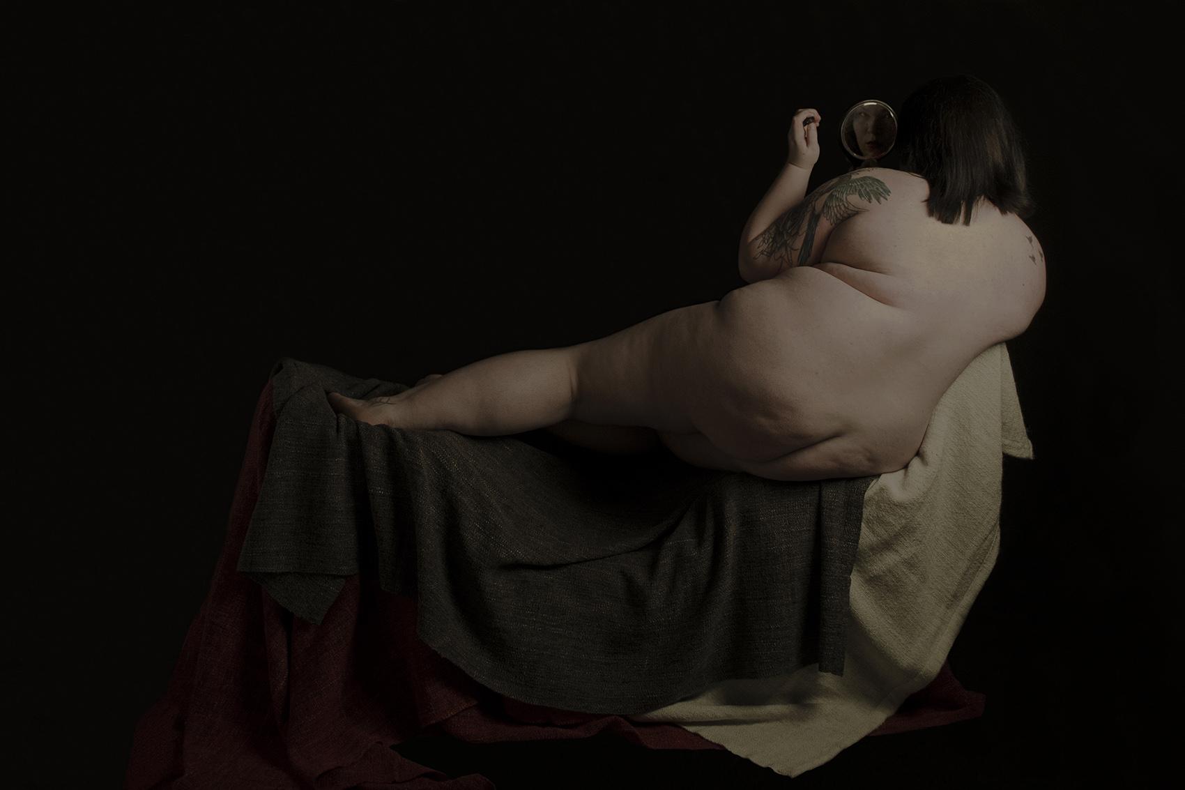Laura Haycock, A Homage to Venus, Behind Facing (1)