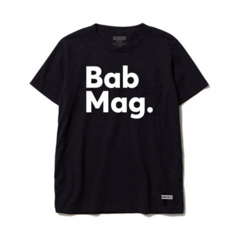 DarkCircle X BabMag Logo Tee Black