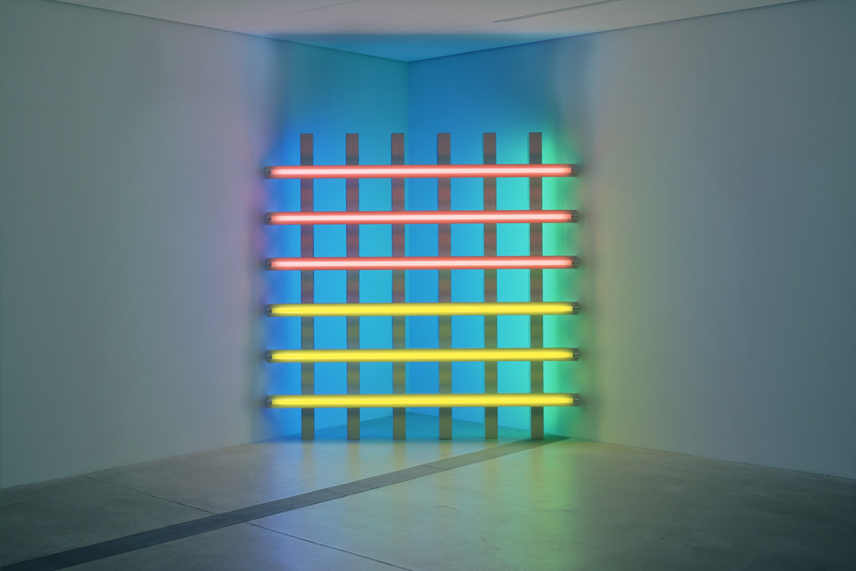 Dan Flavin at Ikon Gallery