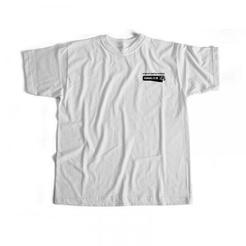 Original Reading Material White Tee