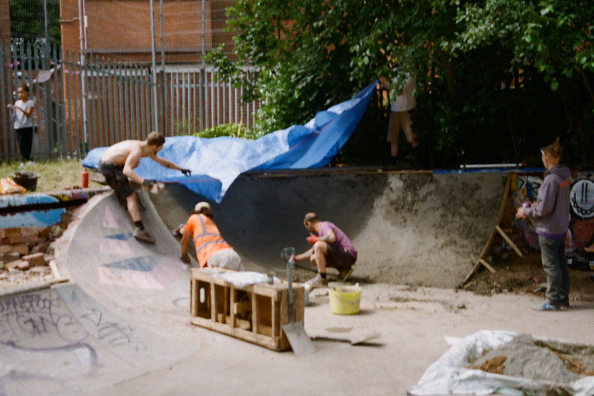 Bournbrook DIY Community Skate Park